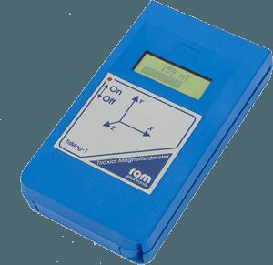 Measurement equipment for magnetic alternating fields